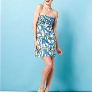 Lilly Pulitzer Blue Docksider Dress